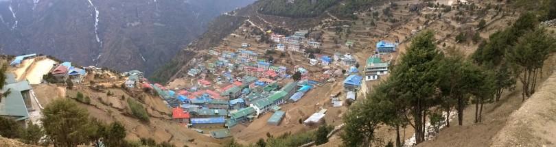 Trekking:  Namche Bazaar